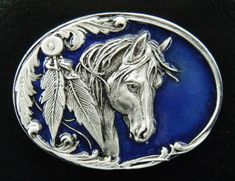 Western Wild Horses Southern Rodeo Cowboys Belt Buckles #western #beltbuckle #buckles #horse