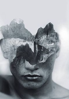 Gorgeous Multiple Exposure Portraits by Antonio Mora www.mylovt.com