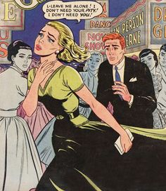 comic, pop art, and love image Vintage Pop Art, Vintage Comic Books, Vintage Cartoon, Vintage Comics, Comic Books Art, Comic Art, Vintage Romance, Vintage Ideas, Bd Comics