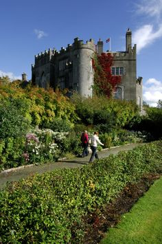 Set in one of Ireland's beautiful Georgian heritage towns, Birr Castle ~ boasts award winning gardens and a fascinating history.