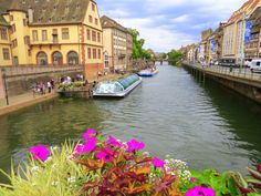 Enchanting views in Strasbourg, France