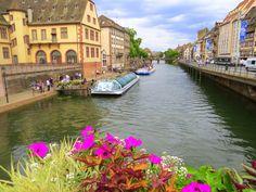 Enchanting views in Strasbourg, France