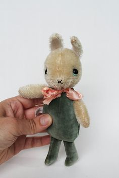 Man in the Moon Tin Pull Toy - Yikes! Rabbit Run, Bunny Rabbit, Bear Toy, Teddy Bear, Bunny Party, Thing 1, Cute Stuffed Animals, Electronic Toys, Pull Toy