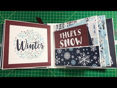 In this video I'm going to show you how to make an easy and quick to put together mini album. I'll be using the adorable coll. Girl Scout Swap, Girl Scout Leader, Crafts For Girls, Diy And Crafts, Paper Crafts, Mini Scrapbook Albums, Mini Albums, Chicken Scratch Embroidery, Creeper Minecraft