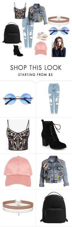 Sem título #174 by maafee18 on Polyvore featuring moda, Alexander McQueen, Alice + Olivia, Topshop, Journee Collection, MANGO, Miss Selfridge and Armitage Avenue