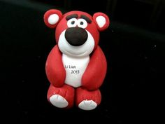 Plush teddy bear with a big plum nose, a sweet strawberry scent and a southern accent. Toy Story Cakes, Disney Cakes, Cake Ideas, Fondant, Plush, Teddy Bear, Toys, Activity Toys, Clearance Toys