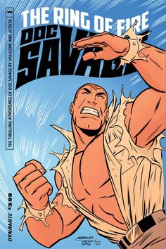 Doc Savage - Ring of fire Cover B