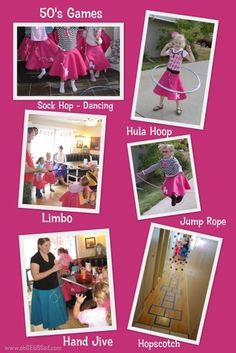 50's Sock-Hop Bday Party