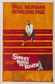 Dulce Pájaro de Juventud (Sweet Bird of Youth), de Richard Brooks, 1962
