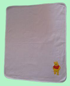 Baby's fleece blanket with binding