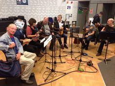 In the BBC Studio for R3 In Tune
