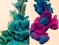 I can't get over how Alberto Sevesocan make something as simple as ink in water look so captivating.