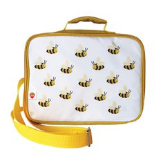 Make school lunches more fun with our insulated Munch Lunchboxes - Bee. These sturdy, high-quality lunch boxes will be a hit with your kids. Fits a Munch Bento Box. Make School, After School, Back To School, Bento Box, Lunch Box, Reusable Sandwich Bags, Cat Run, What Cat, Cat Memorial