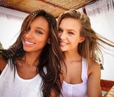 744d73809c Jasmine Tookes and Josephine Skriver Workout and Diet Secrets