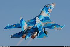 Ukraine - Air Force – Sukhoi Su-27 UB Flanker C 69