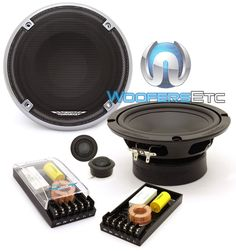 "Image Dynamics ID65CS 6.5"" 100W RMS ID Series Component Speakers System. 6.5"" ID Series Full Range Component Car Speakers 