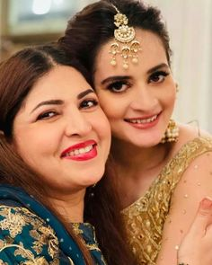 Click on Visit for Video - Full Video on Youtube Asian Bridal Dresses, Aiman Khan, Video Full, Famous Celebrities, Dream Wedding, Hair Styles, Pakistani, Jewelry, Youtube
