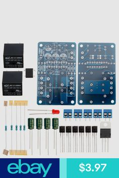 Amplifier Parts Components Consumer Electronics Ebay Diy Amplifier Audio Speakers Sound
