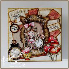 Designed by Pauline Bird - DT for Polka Doodles using Winnie in Wonderland CD http://www.polkadoodles.co.uk/downloads-printables/download-collections/winnie-in-wonderland/?sort=newest&page=4