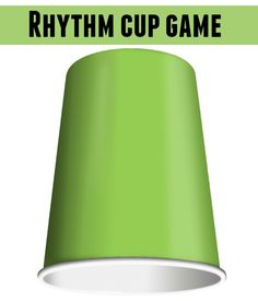 The Rhythm Cup Game is challenging and fun for teens and adults to play.