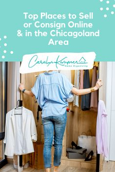 Top Places to Sell or Consign Online & in the Chicagoland Area! Home Decluttering organizing, minimalist Home Decluttering, Home Decluttering inspiration, Home Decluttering checklist, Home Decluttering ideas, Home Decluttering before and after, Home Decluttering storage solutions, Home Decluttering list, Home Decluttering tips. #howtominimalizeyourhomedeclutter #minimalisthomedeclutter #homedeclutterchecklist #homedeclutterideas Bathroom Closet Organization, Home Organization Hacks, Organizing, Decluttering Ideas, Closet Remodel, Diy On A Budget, Home Decor Inspiration, Storage Solutions, Minimalist