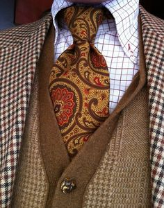 Brought a few paisley ties as a change of pace. Now I need shirts like these to go along with them.