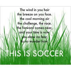 Soccer <3 I miss it already