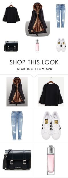 O 1 by eftimie-gabriela on Polyvore featuring Miss Selfridge, adidas Originals, Dr. Martens and Christian Dior