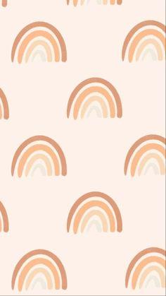 Boho Rainbow Digital Wallpaper | Graphic Design Art | Phone Background