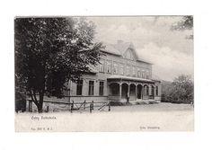 Örby - Örby Folkskola. Postgånget 1910