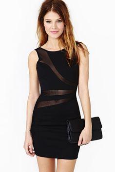 Lines Diverge Dress