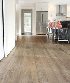 Ideas For Reclaimed Wood Floors Kitchen Wide Plank Wide Plank Laminate Flooring, Engineered Hardwood Flooring, Plywood Floors, Plywood Furniture, Vinyl Wood Flooring, Furniture Design, Clean Hardwood Floors, Wood Floor Kitchen, Kitchen Flooring