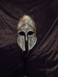Miniature Lord of the Rings metal helmet Gondor Middle earth return of the king