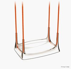 Plastic swing called Airway by Philippe Starck X Kartell Furniture Stores Nyc, Furniture Market, Furniture Sale, Sofa Furniture, Discount Furniture, Kids Furniture, Furniture Design, Furniture Collection, Furniture Plans