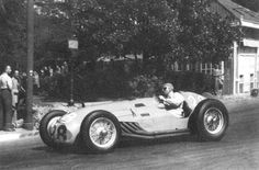Pierre Levegh  - Talbot Lago T26C - Private Entry - Xi Grand Prix Automobile de Pau 1950