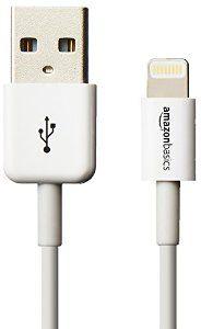 amazoncom amazonbasics apple certified lightning to usb cable 4 inches 10