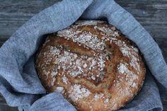 Ranteita myöjen taikinasa: Nopea kaurapataleipä myös gluteenittomana Paella, Gluten Free, Bread, Baking, Food, Glutenfree, Brot, Bakken, Essen