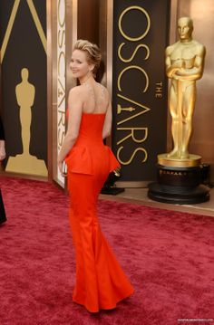 Jennifer Lawrence arriving 86th Annual Academy Awards 2/03/2014