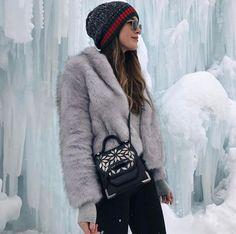 FORAY COLLECTIVE // #shopbyinfluencer, #instagramblogger, #bloggerstyle, #blogger, #stylish, #trendy, #fashionblogger, #influencer, #socialinfluencer, #outfits, #shop, #shopping, #fashiontrends, #fashion, #forwomen, #style, #tofollow, #inspiration, #foraycollective, #winterjacket, #furcoat, #greyfurcoat, #unrealfur, #winterfashion