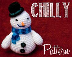 Chilly (Doc McStuffins) Amigurumi pattern on Craftsy.com