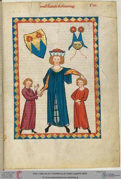 Der Minnesänger stammt wahrscheinlich aus der Ministerialenfamilie von Sonnenburg, die in Diensten der gleichnamigen Benediktinerabtei stand und bei St. Lorenzen im Pustertal beheimatet war. Die im Codex Manesse überlieferten Liedstrophen sind zwischen 1250 und 1275 entstanden.