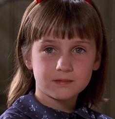 """Mara Wilson as Matilda Wormwood in """"Matilda"""" Picture Movie, Movie Tv, Matilda Wormwood, Mara Wilson, Girls Rules, Book Week, Role Models, Girl Power, Editorial Fashion"""