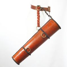 Embossed Medieval Style Leather Archery Quiver by MortuusBestia, £99.00
