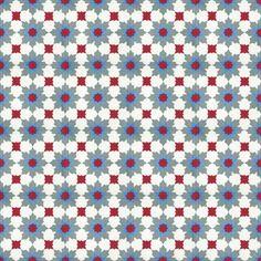 Moroccan Encaustic Cement Tile Pattern 01x