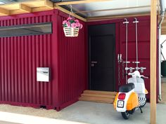 container house model entrance view more at: marionswiss.blogspot.ch