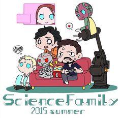 Science Family  Tony &Bruce #AoU