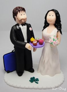 Fimo cake topper