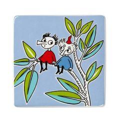 Moomin deco tree Thingumy & Bob by Arabia