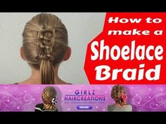 How to make a Shoelace Braid - YouTube