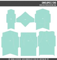 Envelope Template  Envelope Templates  Kirjekuoria